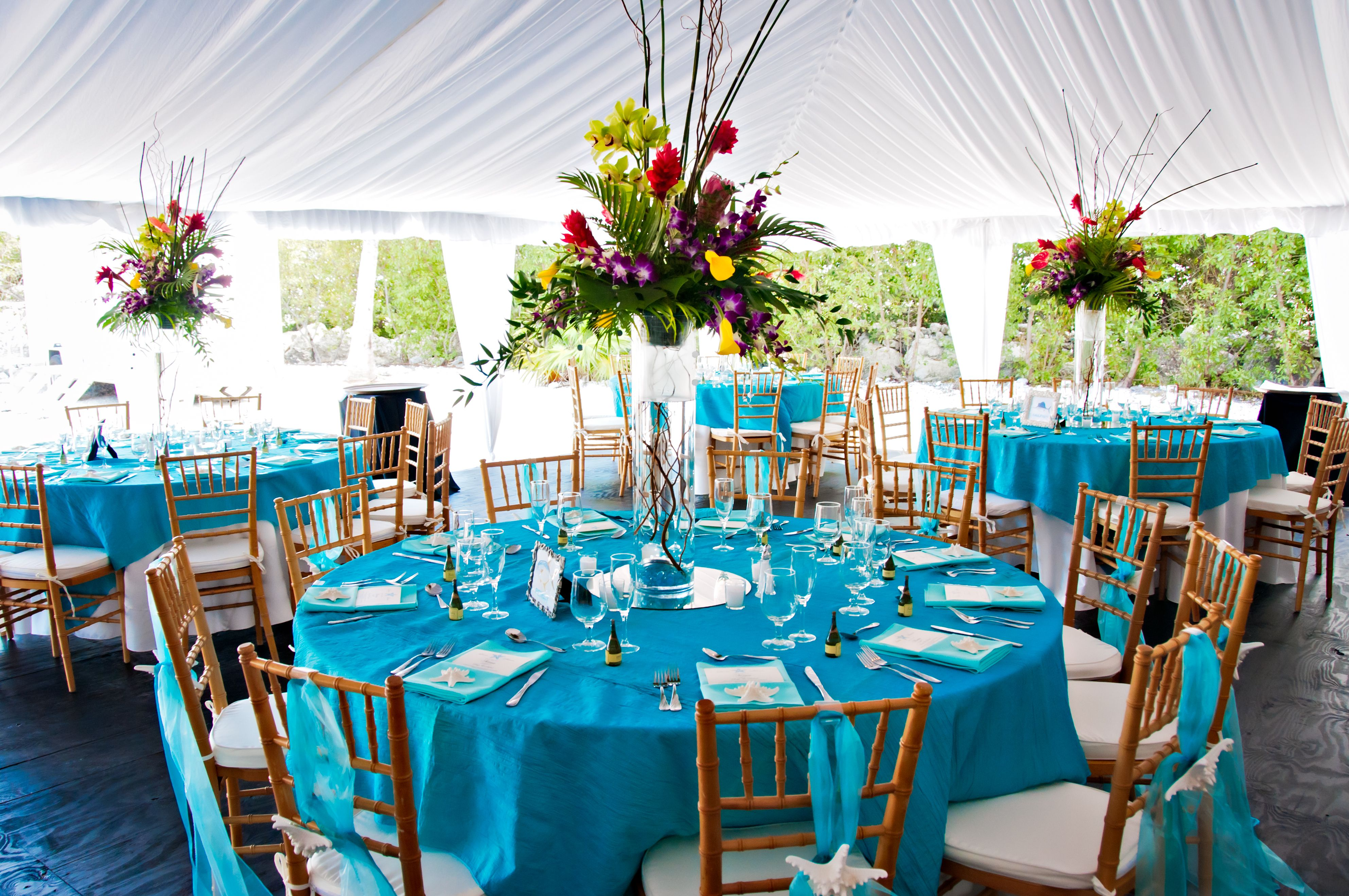 Turquoise Wedding In The Florida Keys Wedding Events Blog D