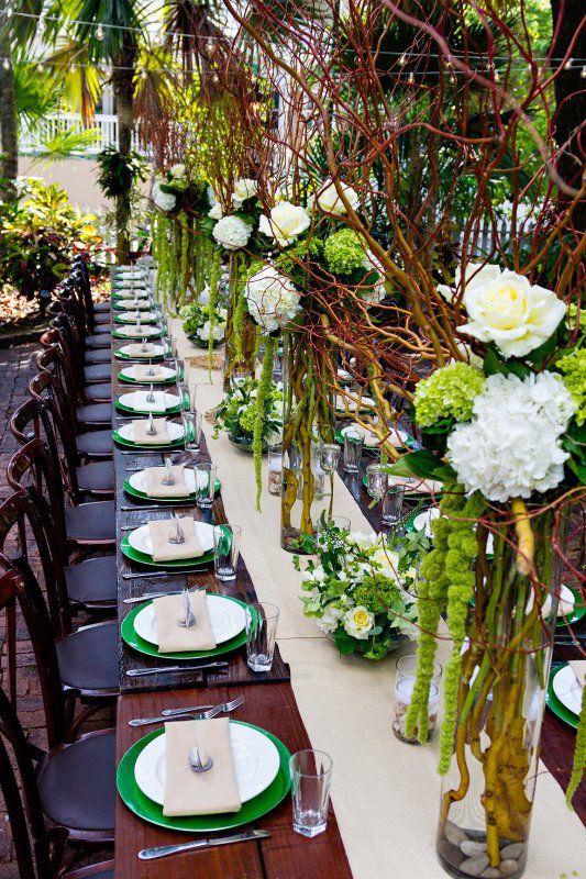 Audubon House Wedding Reception Key West Wedding Private Venues